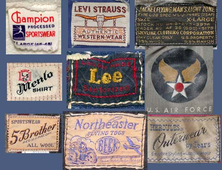 jeans label examples